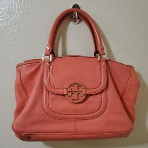 🐞Tory burch orange satchel 🌹🍊